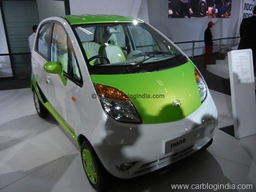 Tata Nano CNG Petrol Bi-Fuel Model India (4)