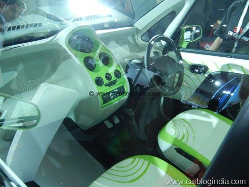Tata Nano CNG Petrol Bi-Fuel Model India (6)