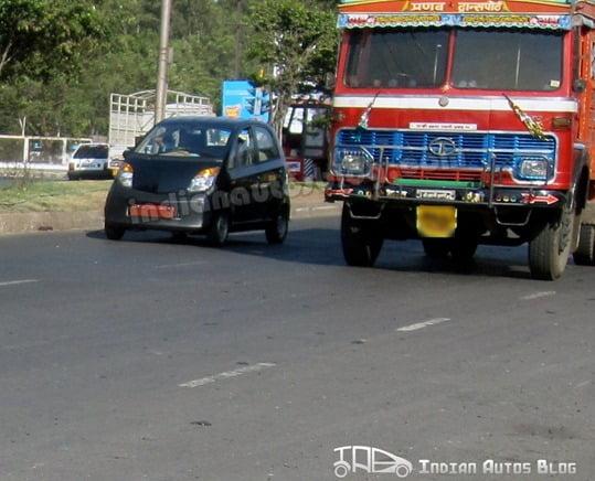 Tata Nano Diesel Spy Pictures2