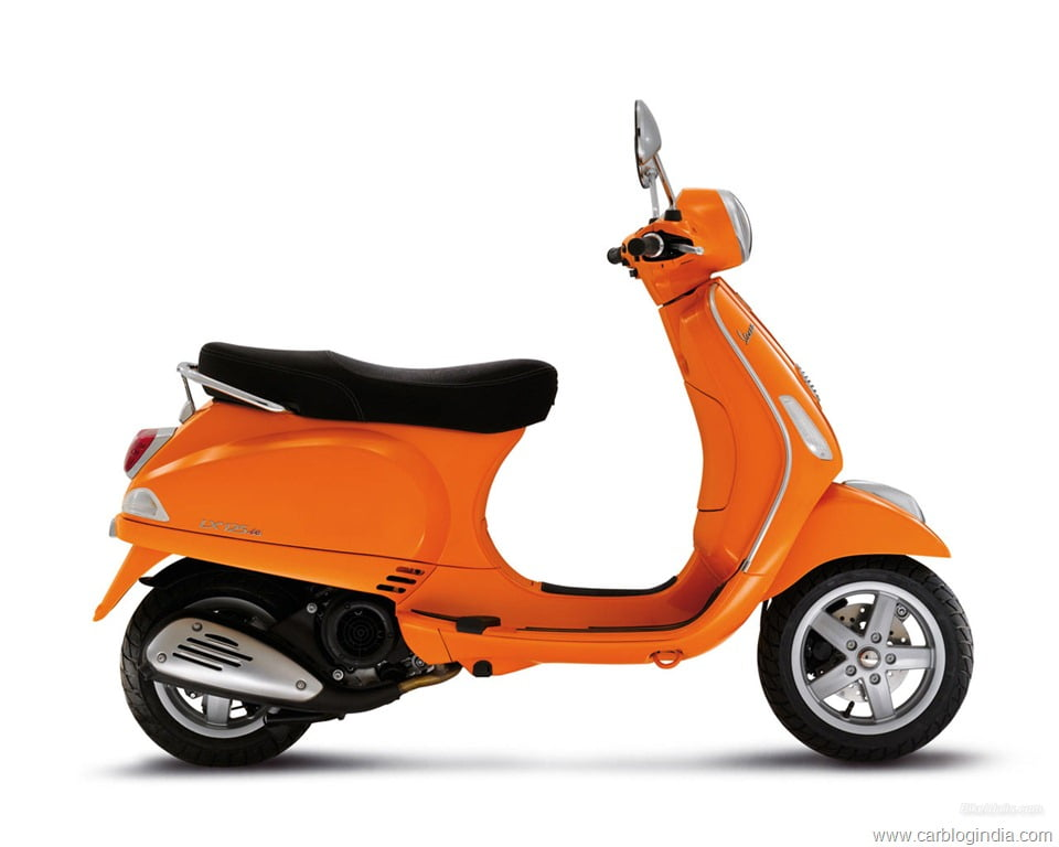 vespa lx 125 india details pictures price features and more. Black Bedroom Furniture Sets. Home Design Ideas