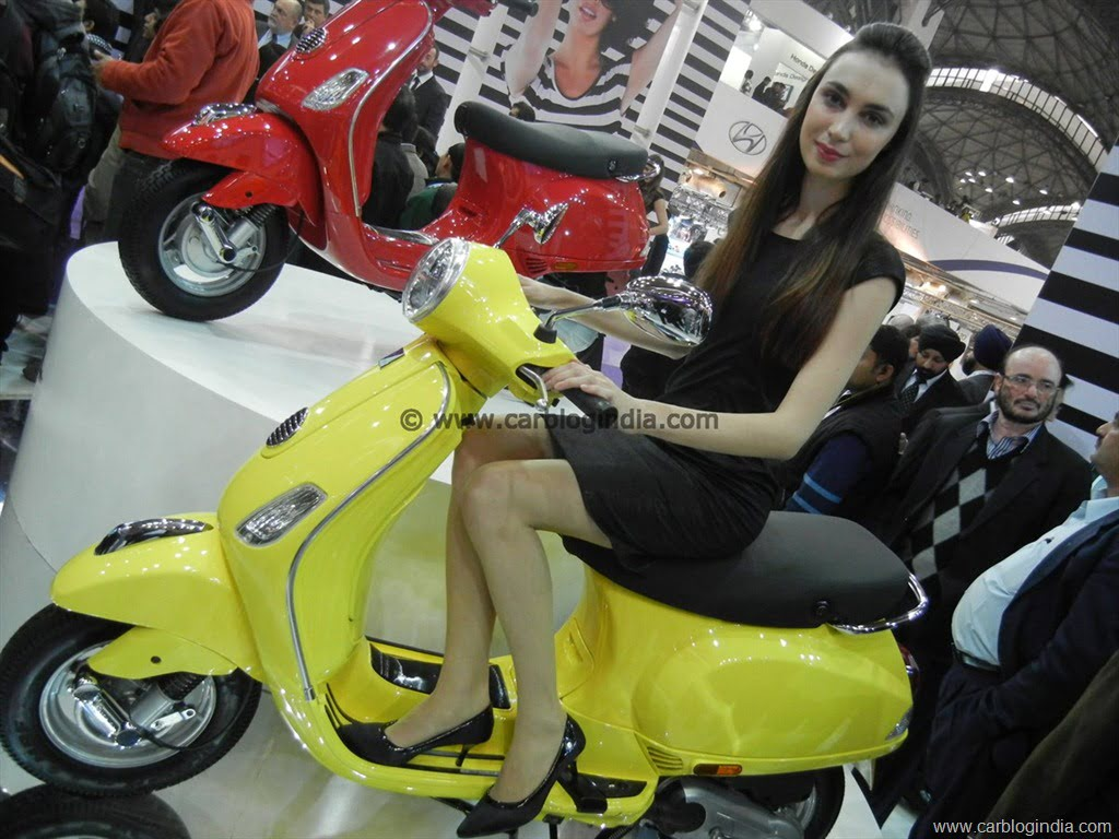 Vespa Mass Market Scooter In India To Compete With Activa