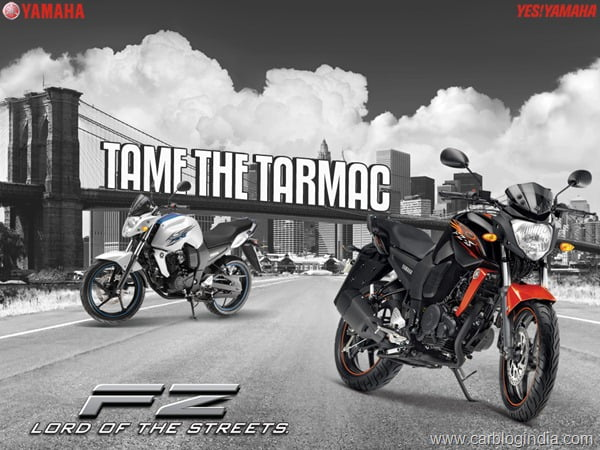Yamaha FZ-S 2012 Black Orange New Colour5