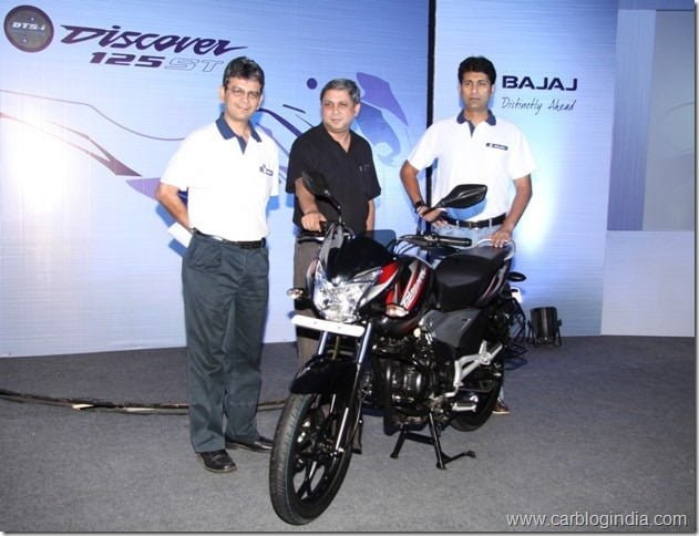 2012 Bajaj Discover 125 ST Launch In India