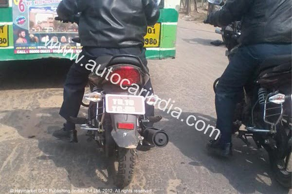 2012 TVS Radeon 125 CC Bike Spied Testing– Launch In 2012