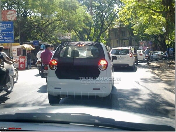 2012 Chevrolet Spark New Model Spy Picture