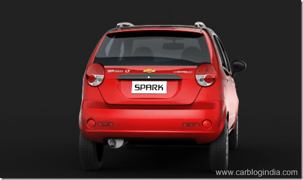 2012 Chevrolet Spark New Model Spied– Is This Spark 800 CC?