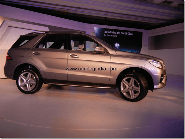 Mercedes Benz India Launches New M Class In India