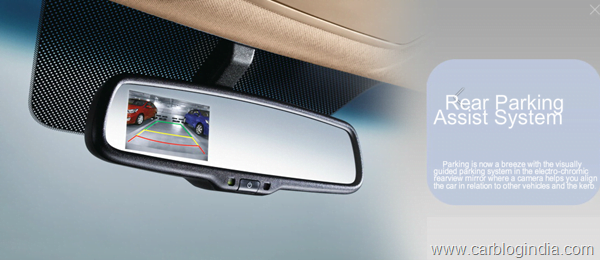 Hyundai Verna Reverse Camera as standard