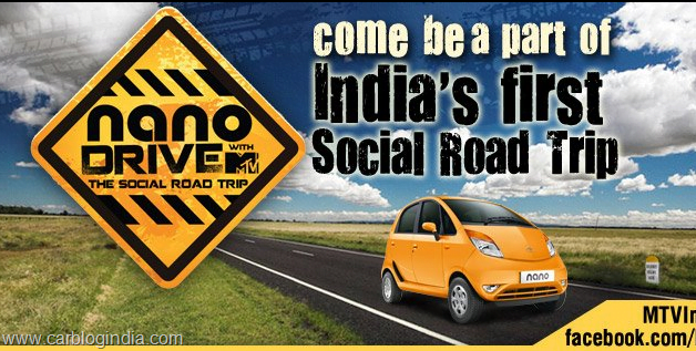 Tata Nano MTV Social Drive