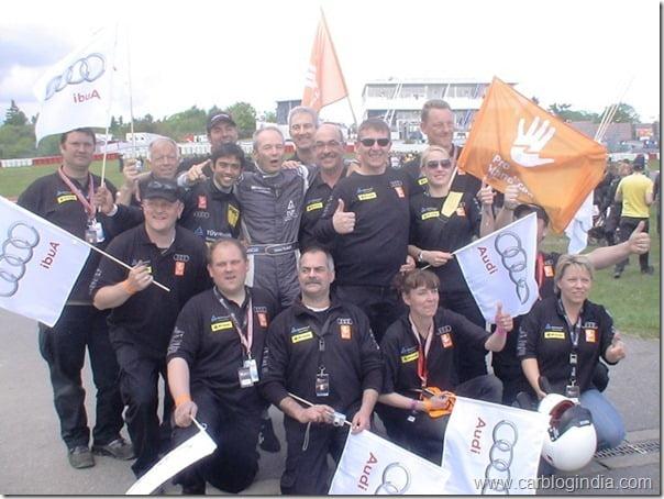 Team Pro-Handicap e.V. after victory