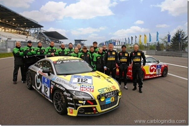 Team Pro-Handicap e.V. & the race winning Audi TTS