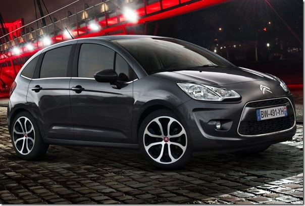 2012 Citroen C3 Small Car