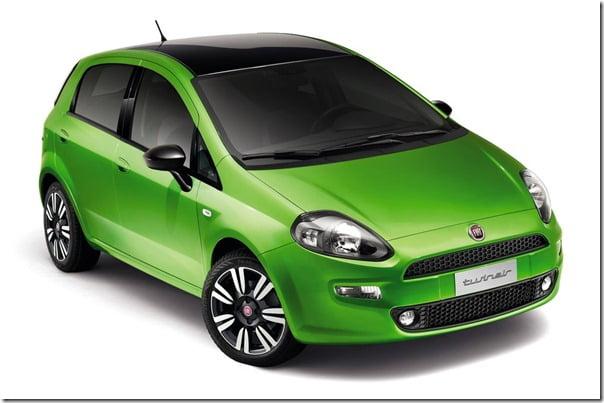 2012 Fiat Punto Hatch Exterior