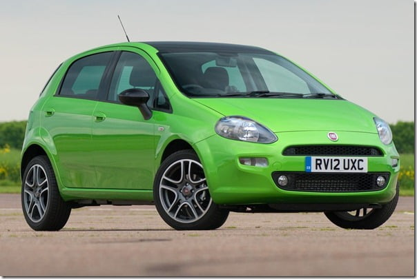 2012 Fiat Punto Hatch