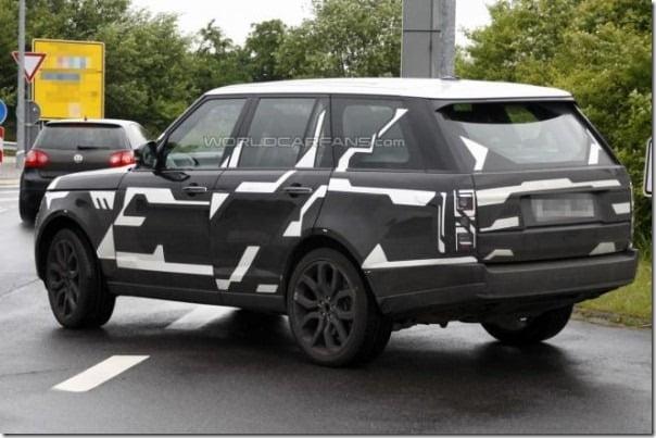 2013 Range Rover Spied rear