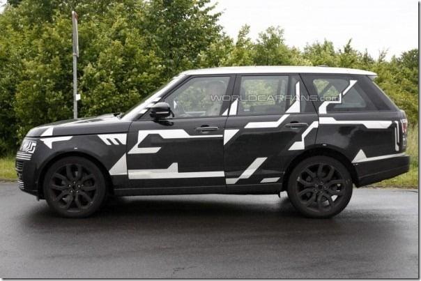 2013 Range Rover Spied side