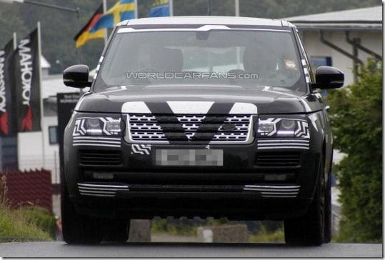 2013 Range Rover Spied