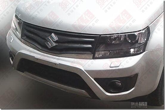 2013 Suzuki Grand Vitara front close up