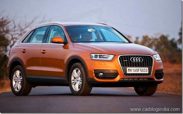 Audi Q3 Compact SUV India