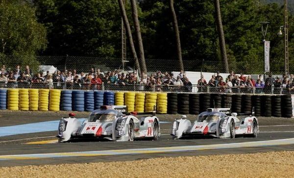 Audi at Le Mans 2012