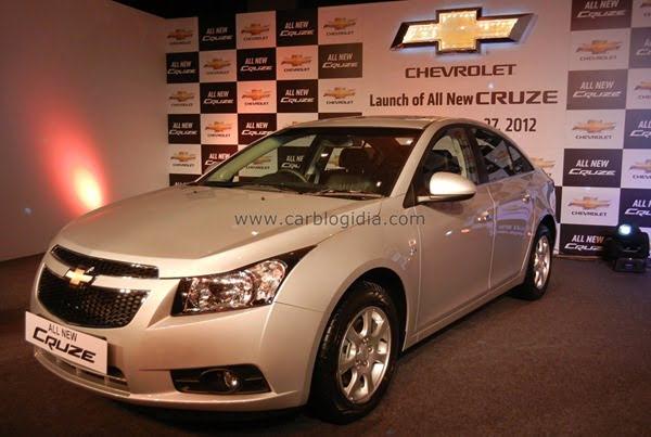 Chevrolet Cruze 2012 India