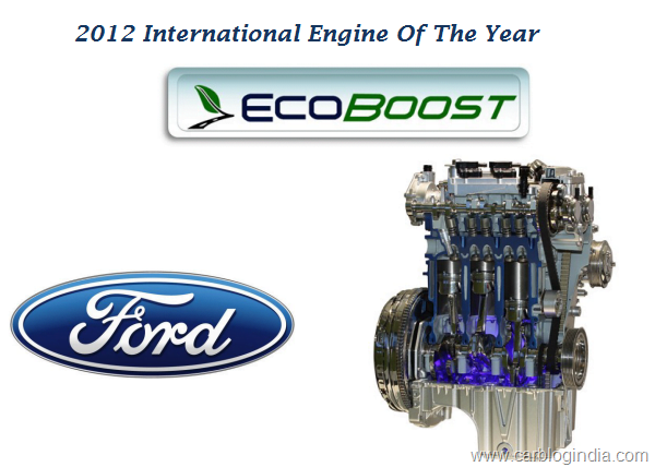 Ford EcoBoost 2012 Engine Of The Year