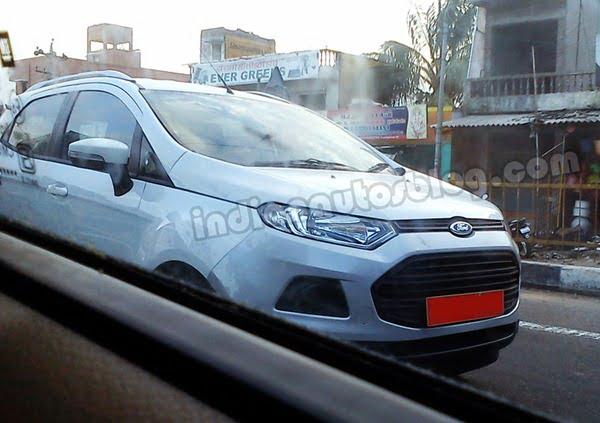 Ford EcoSport Testing In Chennai (1)