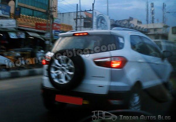 Ford EcoSport Testing In Chennai (2)