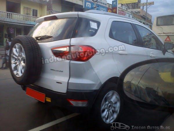 Ford EcoSport Testing In Chennai (3)