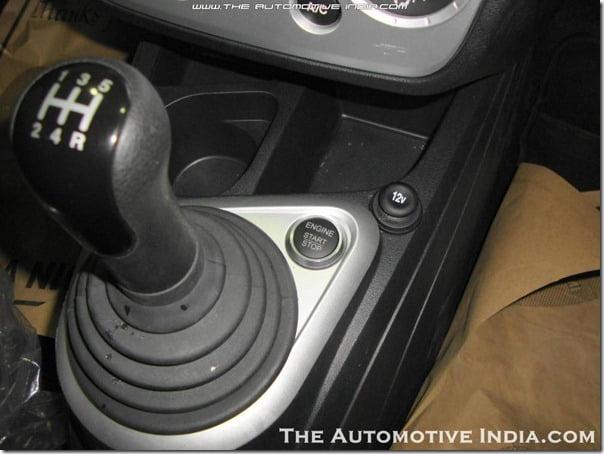 Ford Figo Start Stop button