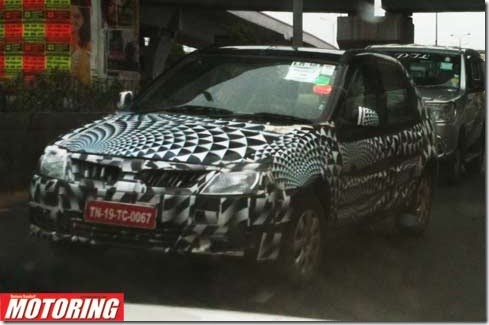 Mahindra Verito Sedan Facelift