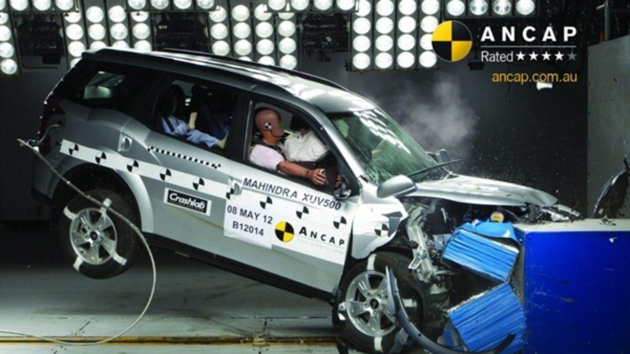 Mahindra Xuv500 Safety Rated At 4 Stars In Ancap Crash Testing