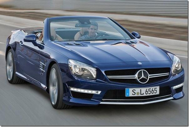 Mercedes-Benz-SL65_AMG Roadster Front