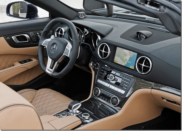 Mercedes-Benz-SL65_AMG Roadster Interiors