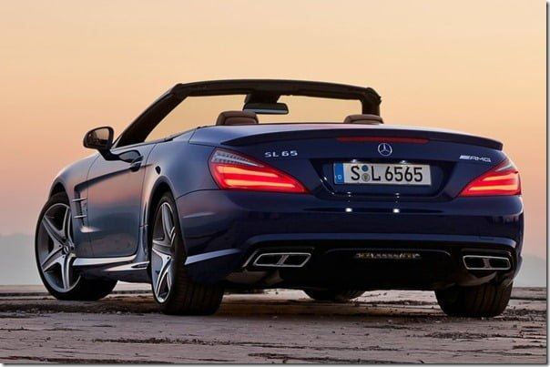 Mercedes-Benz-SL65_AMG Roadster Rear