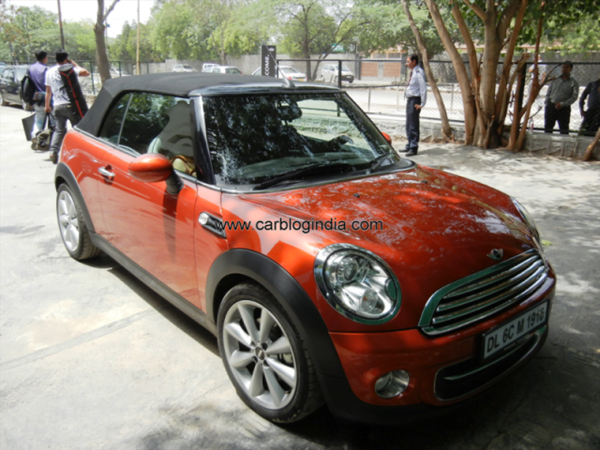 Mini Cooper Convertible Test Drive Review