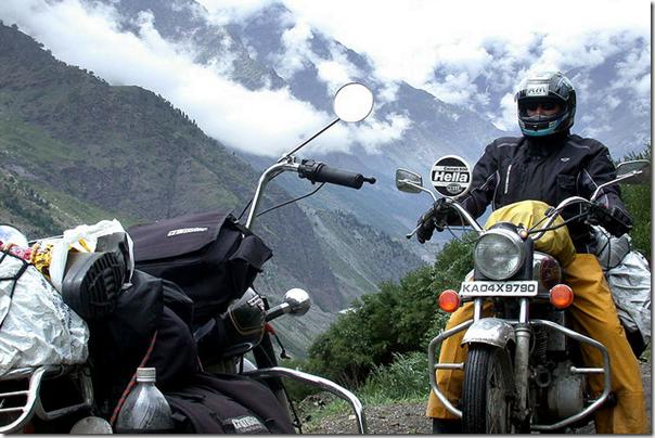 Monsoon Bike Riding
