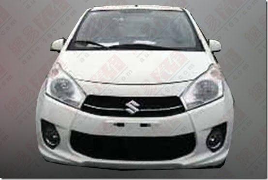 New Suzuki A-Star front