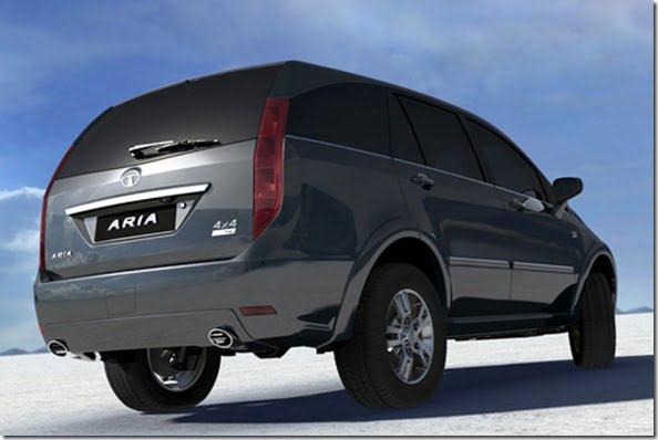 Tata Aria LX rear