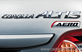 Toyota Corolla Altis Aero Limited Edition India (7)