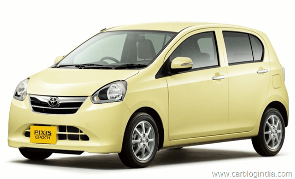 Toyota To Launch 6 New Small Cars By 2015 For India, Brazil, China And Russia