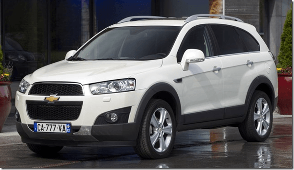 2012 Chevrolet Captiva New Model Launched At Rs. 18.74 Lakhs