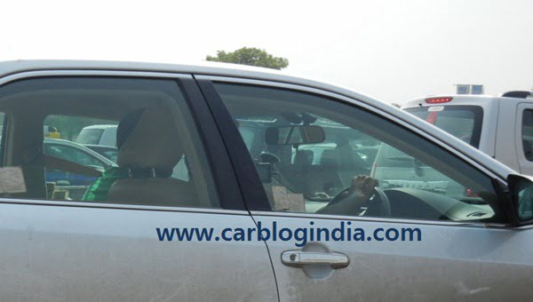 2012 Toyota Camry India Spy Pictures By CarBlogIndia.com (5)