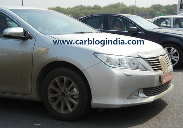 2012 Toyota Camry India Spy Pictures By CarBlogIndia.com (6)