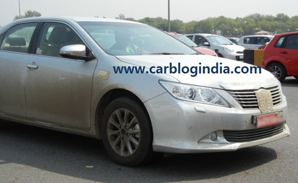 2012 Toyota Camry India Spy Pictures By CarBlogIndia.com (7)