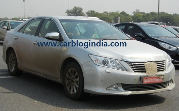 2012 Toyota Camry India Spy Pictures By CarBlogIndia.com (8)