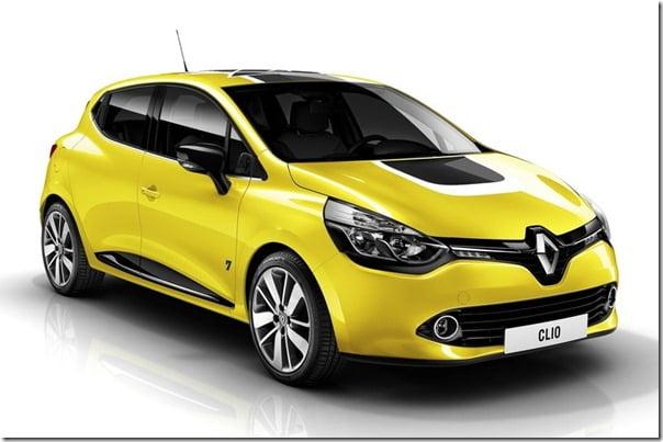 2013 Renault Clio studio shot front