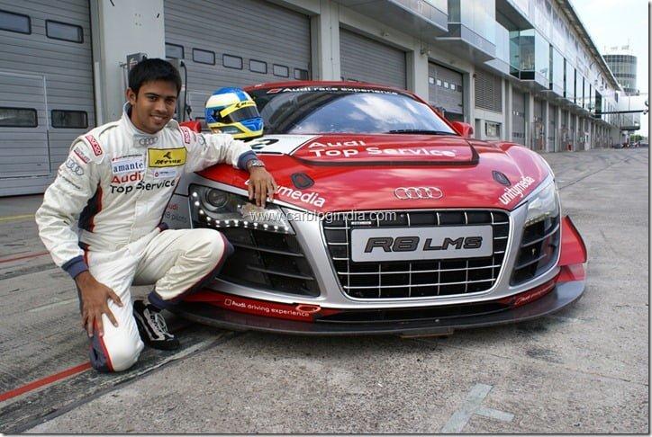 Indian Racer Aditya Patel To Race In Audi R8 LMS Ultra