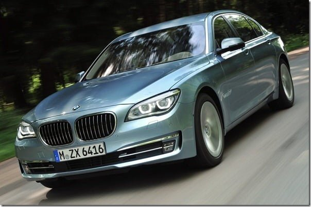 BMW 7 Series ActiveHybrid 2013-1
