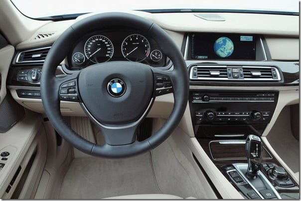 BMW 7 Series ActiveHybrid 2013 interior